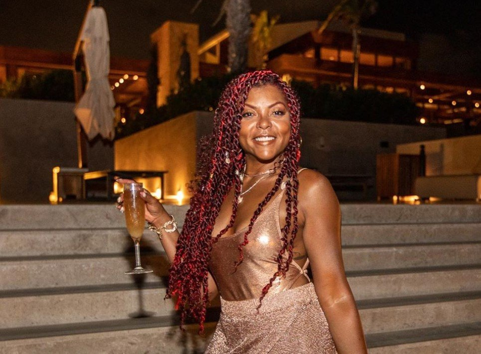 Taraji P. Henson Posts Sizzling Hot Bikini Photos, Celebrates 50th Birthday