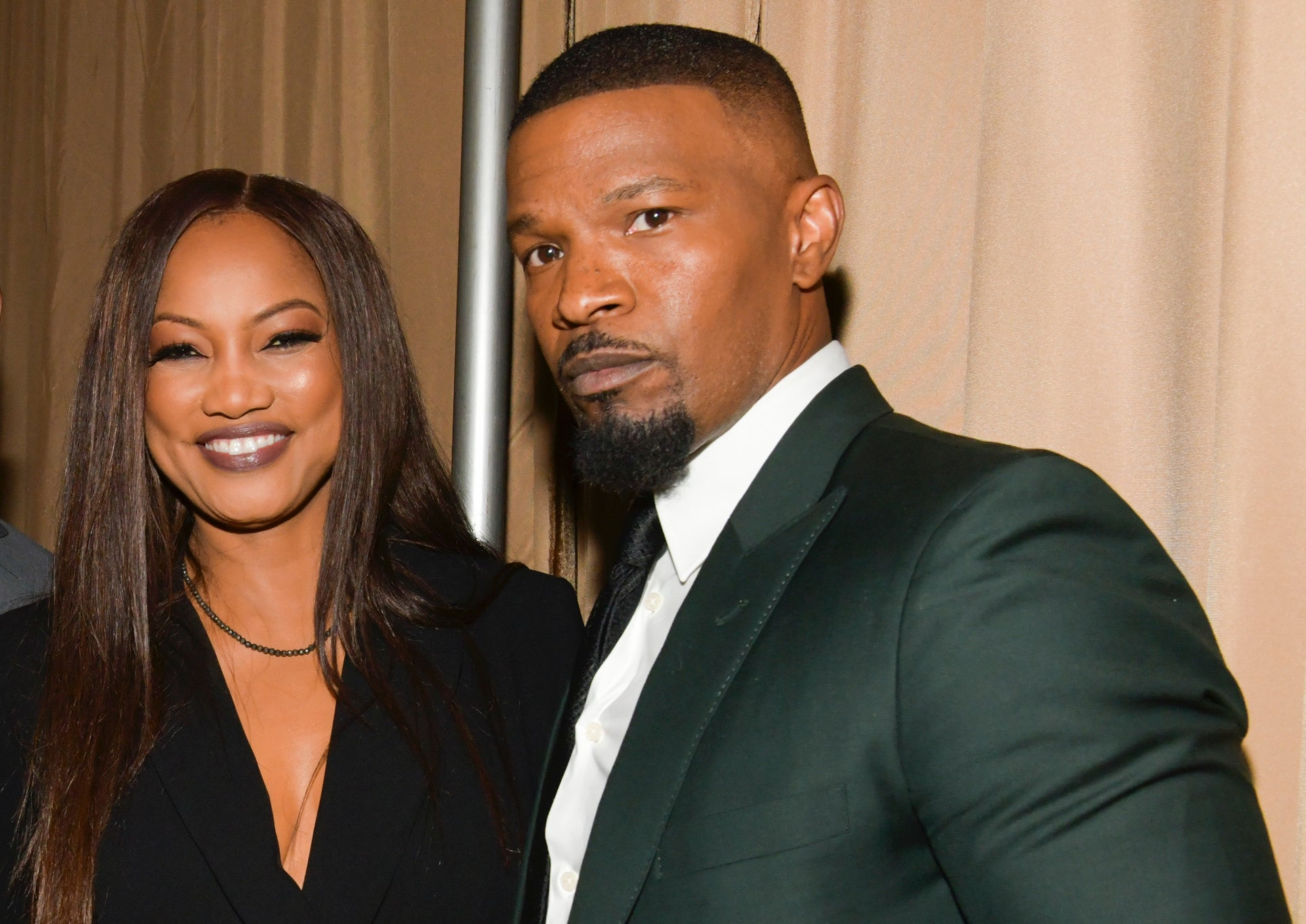 Jamie Foxx Flirts With Former On-Screen Love Interest Garcelle Beauvais – Says They Should've Dated In Real Life!