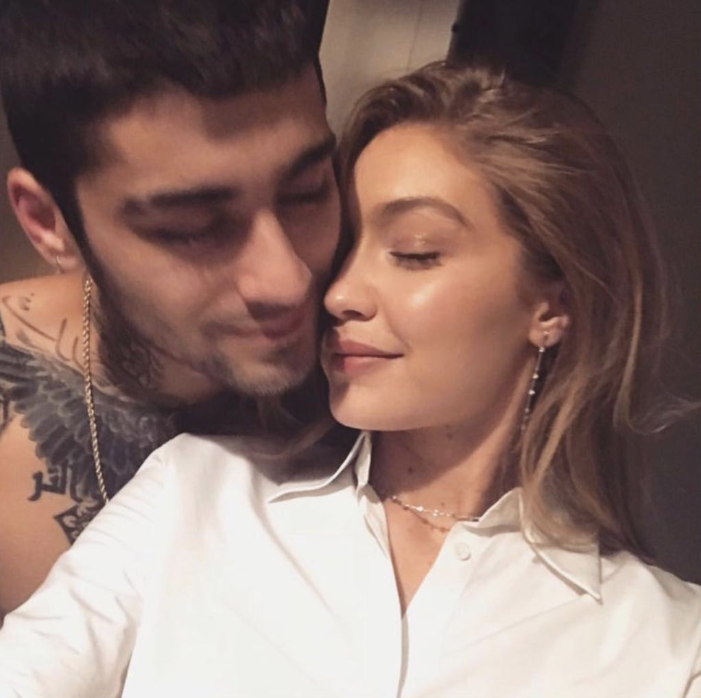 Gigi Hadid And Zayn Malik's Daughter Is Here – Check Out The First Pic Of Their Baby Girl!