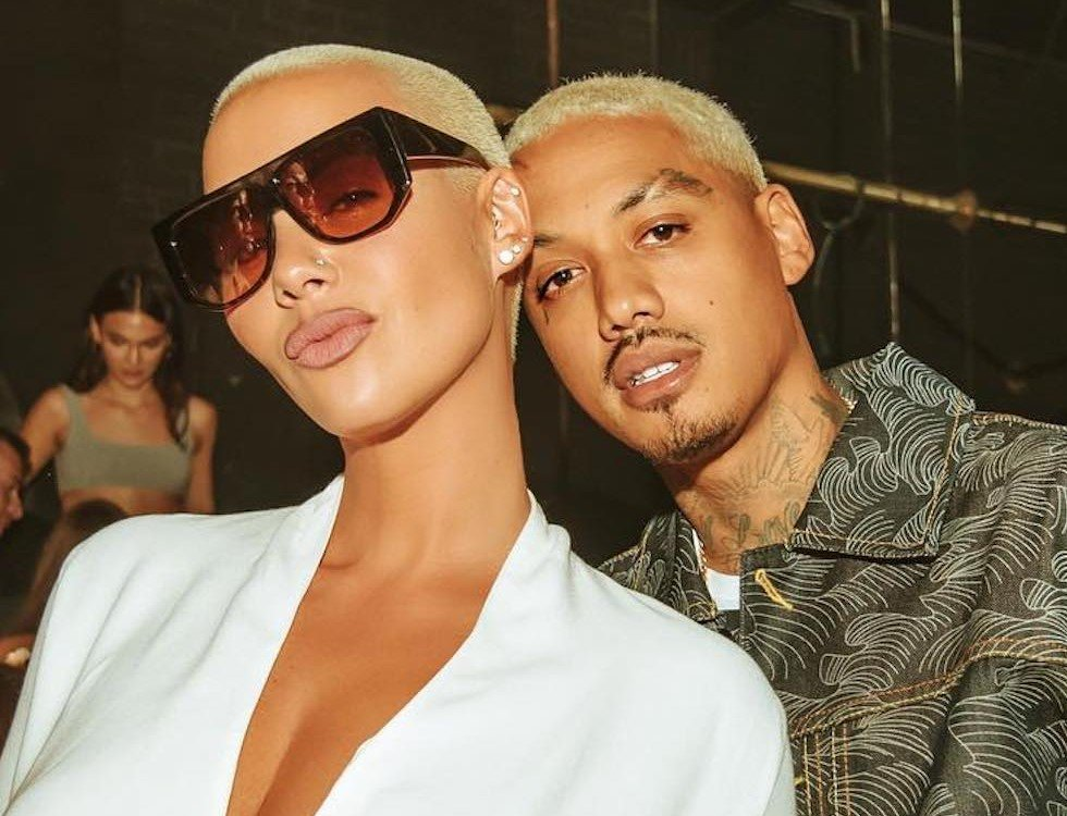 "Amber Rose Calls Alexander ""A.E."" Edwards Her 'Husband' – Did They Secretly Tied The Knot?"