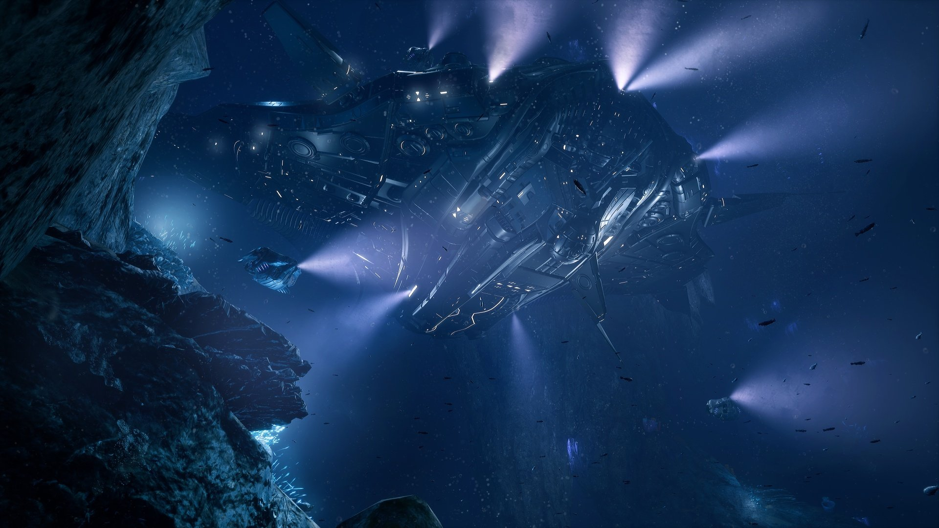 Aquanox Deep Descent Is A Unique Underwater Shooter Headed to PC This October