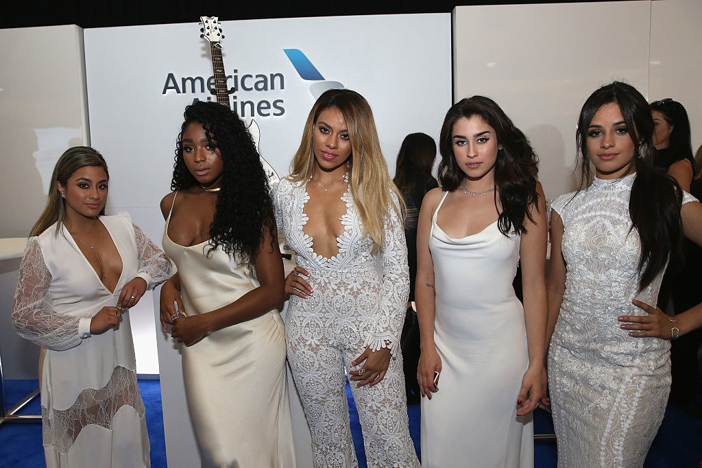 Fifth Harmony arrive at the 2016 CMT Music Awards