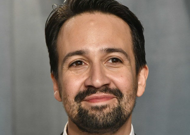 Close-up of Lin-Manuel Miranda smiling