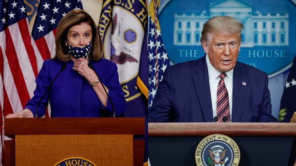 Trump approves 'revised' Covid-19 relief package, says 'negotiations moving along' ahead of treasury sec's meeting with Pelosi