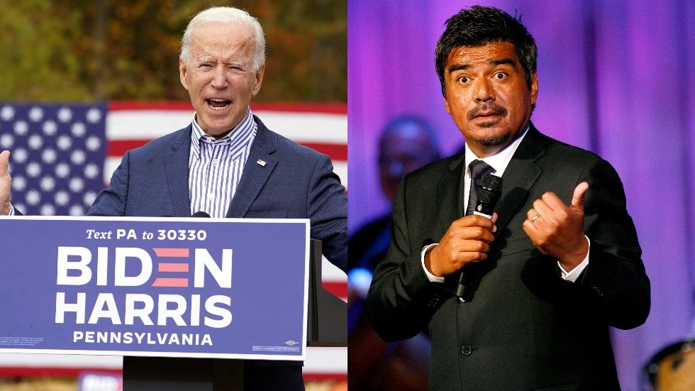 """""""Four more years of… George"""" Bush or Lopez? Liberals and conservatives clash over who Biden referred to in suspected gaffe"""