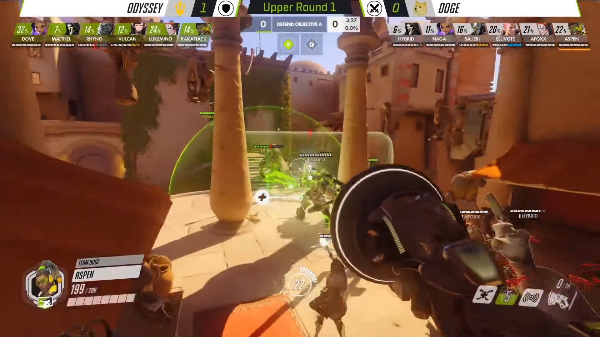 New Skins For Genji, Symmetra, And Mercy Will Be Released In Support Of The Overwatch Contenders Season 2