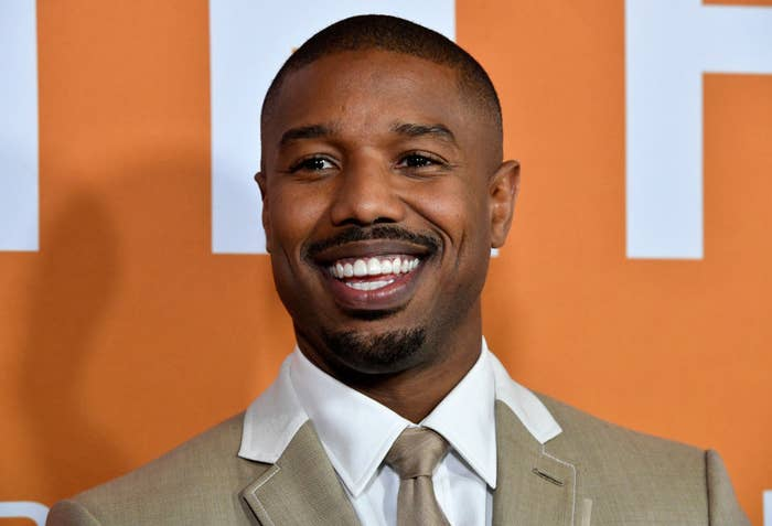 "Michael B Jordan attends the LA Community Screening Of Warner Bros Pictures' ""Just Mercy"""