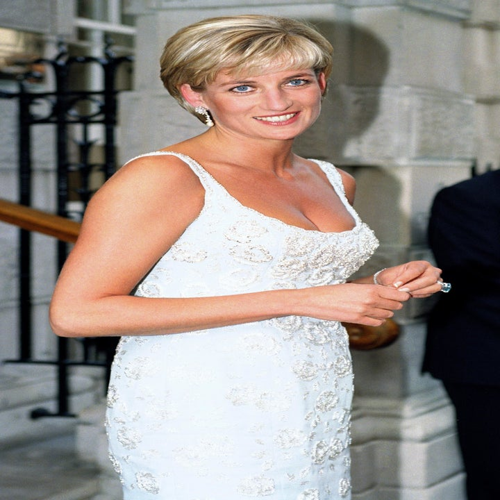 Diana The Princess Of Wales Attends A Gala Reception