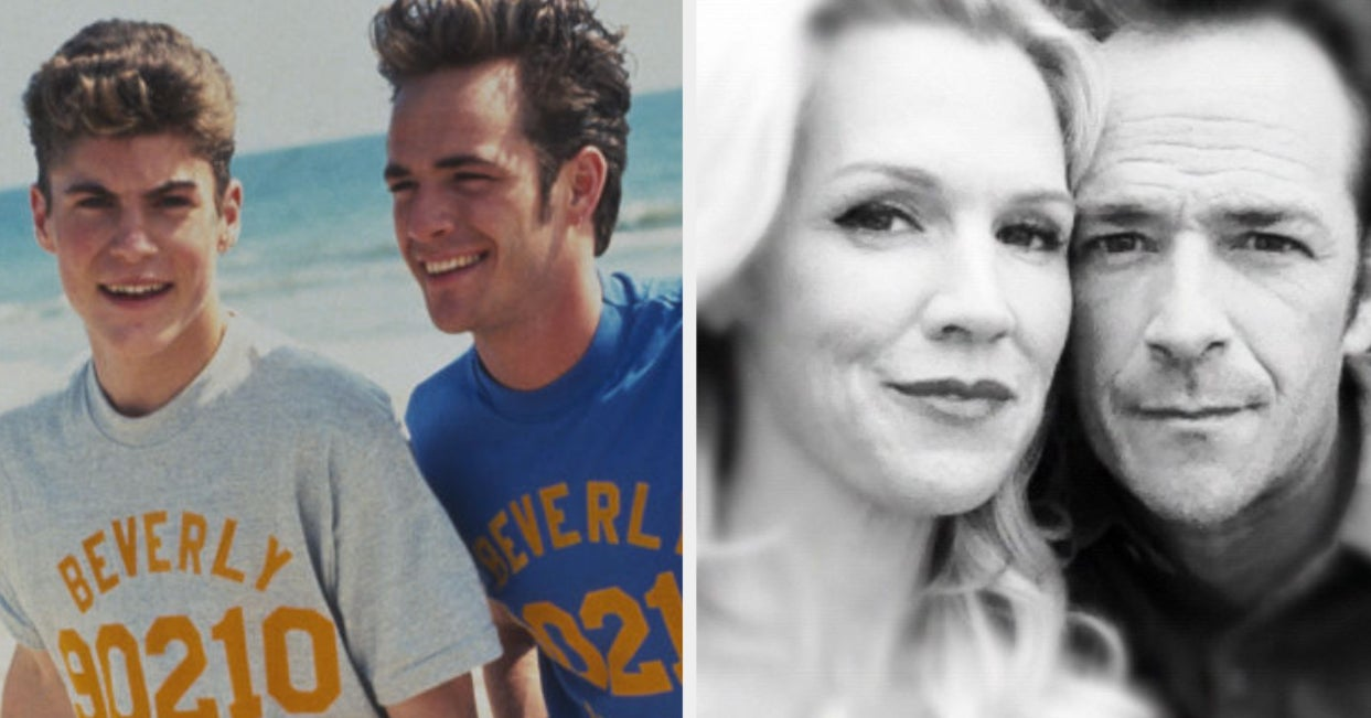 "The Original ""90210"" Cast Celebrated Luke Perry's Birthday With Sweet Tributes"