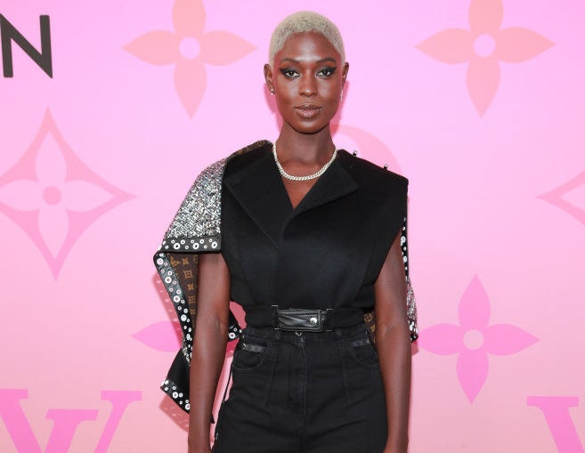 Jodie Turner-Smith attends Louis Vuitton Unveils Louis Vuitton X: An Immersive Journey