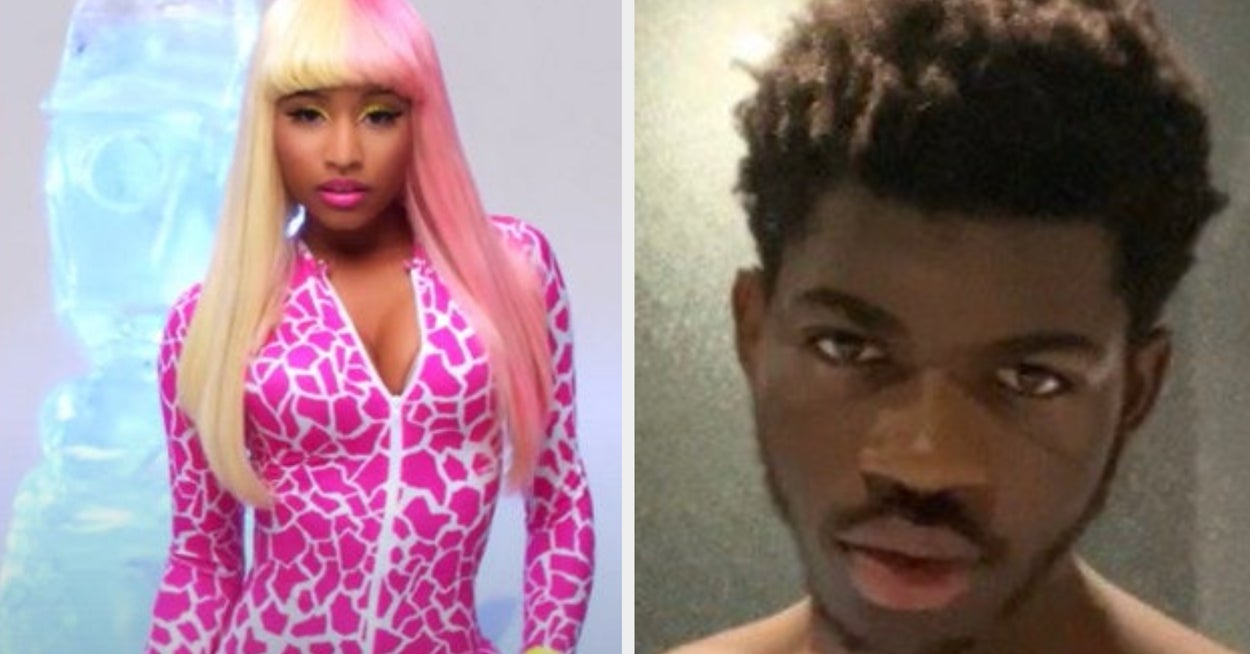 Lil Nas X's Nicki Minaj Costume Is The Best Celeb Halloween Costume So Far