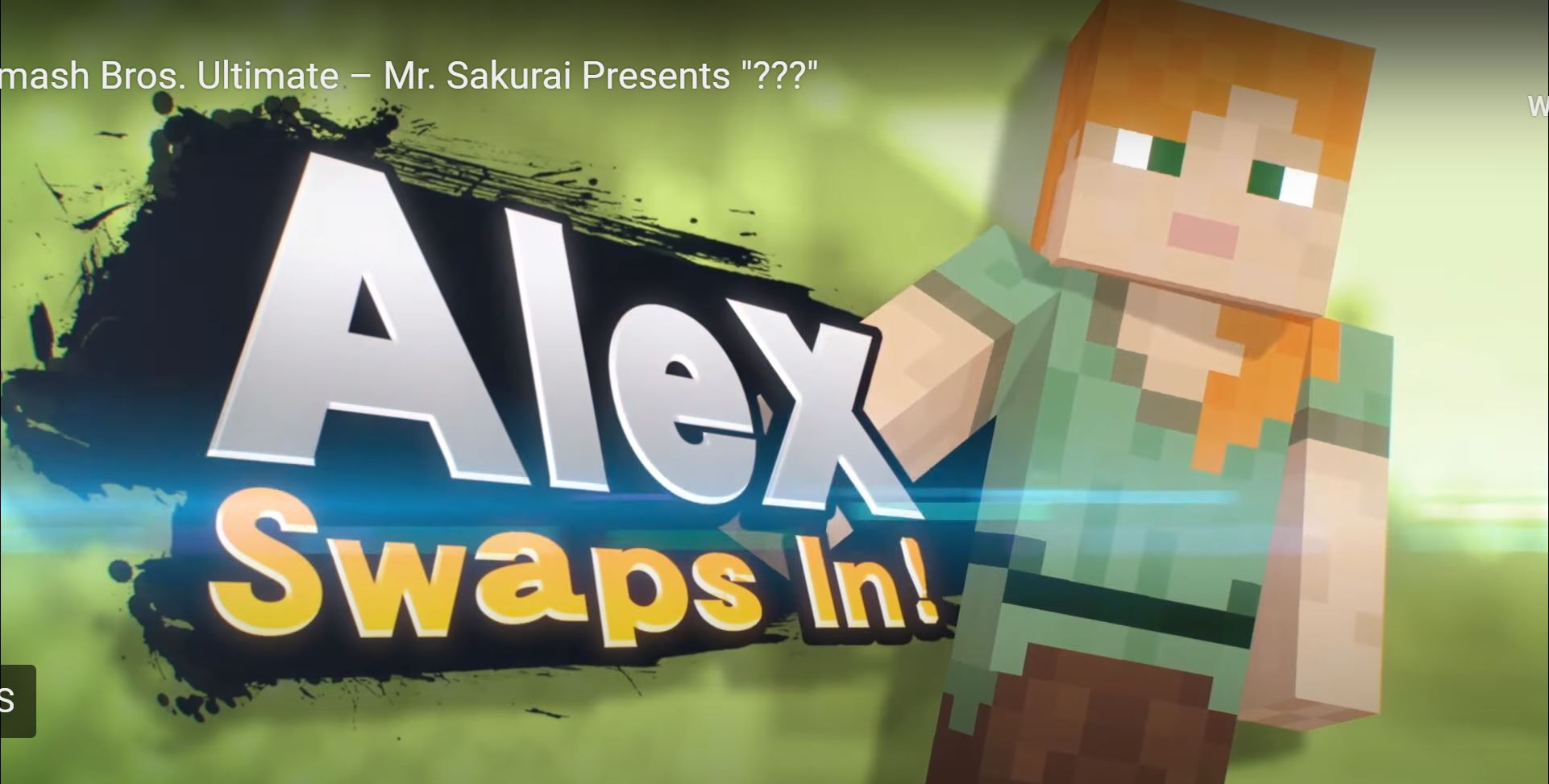 Minecraft Characters, Steve, Alex, Zombie and Enderman, Will Be Part Of Super Smash Bros Ultimate!