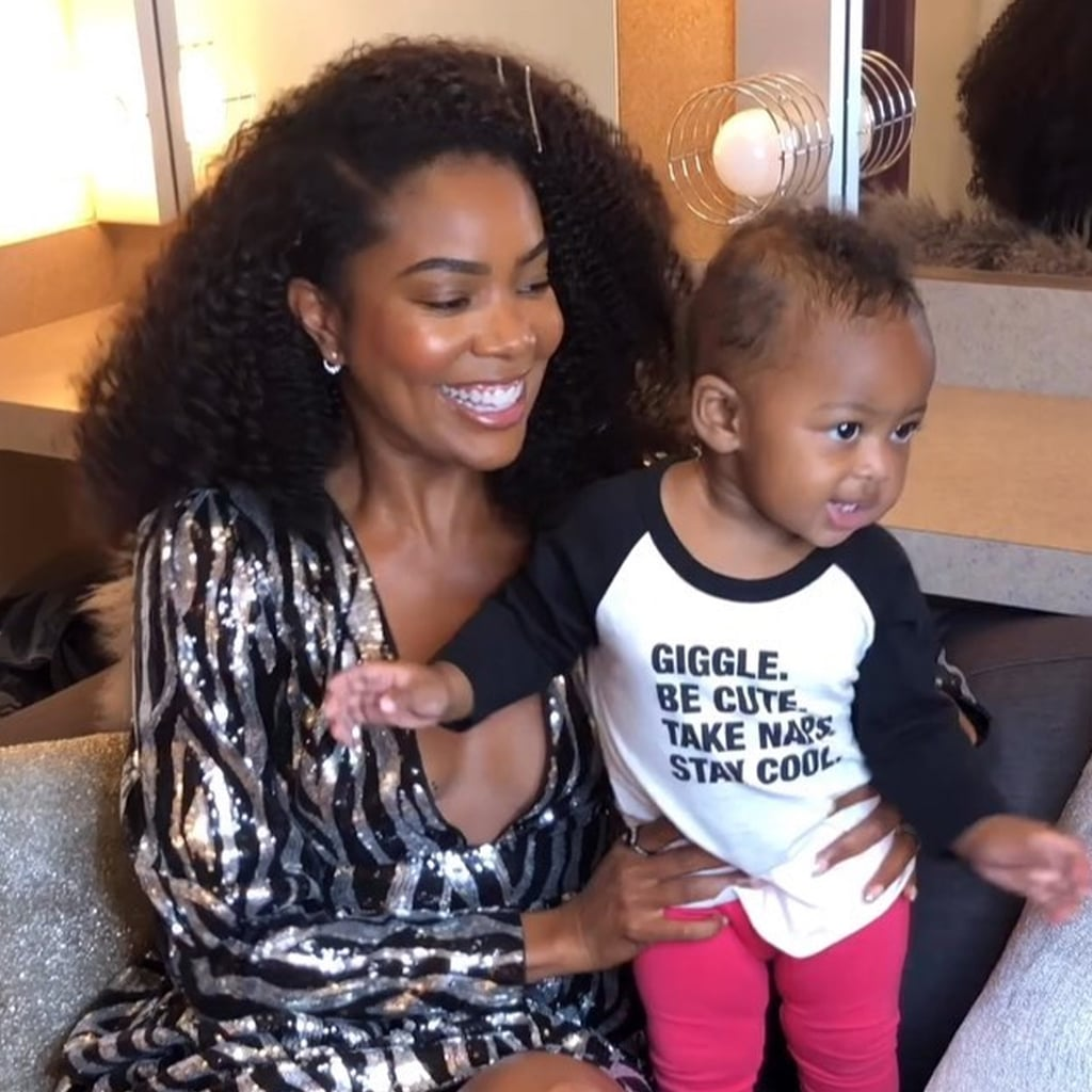 Gabrielle Union's Video With Adorable Kaavia James Will Make You Smile