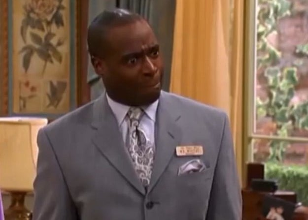 Mr. Moseby looking nervous.