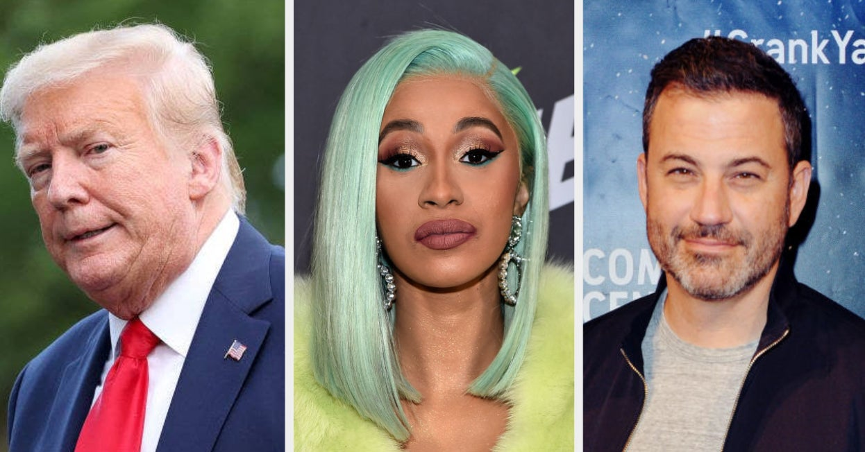 Here's How Celebs Are Reacting To Trump Having The Coronavirus
