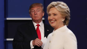 Media aghast Trump won't pledge to 'accept' 2020 election result...as Hillary yet to admit her 2016 loss was legit