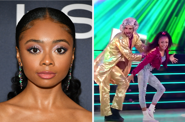 """Skai Jackson Says """"DWTS"""" Is Helping Her Work Through Her Anxiety"""