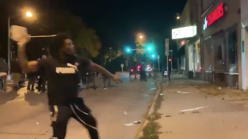 Stores raided and homes attacked as BLM rioters descend on Milwaukee suburb (VIDEO)