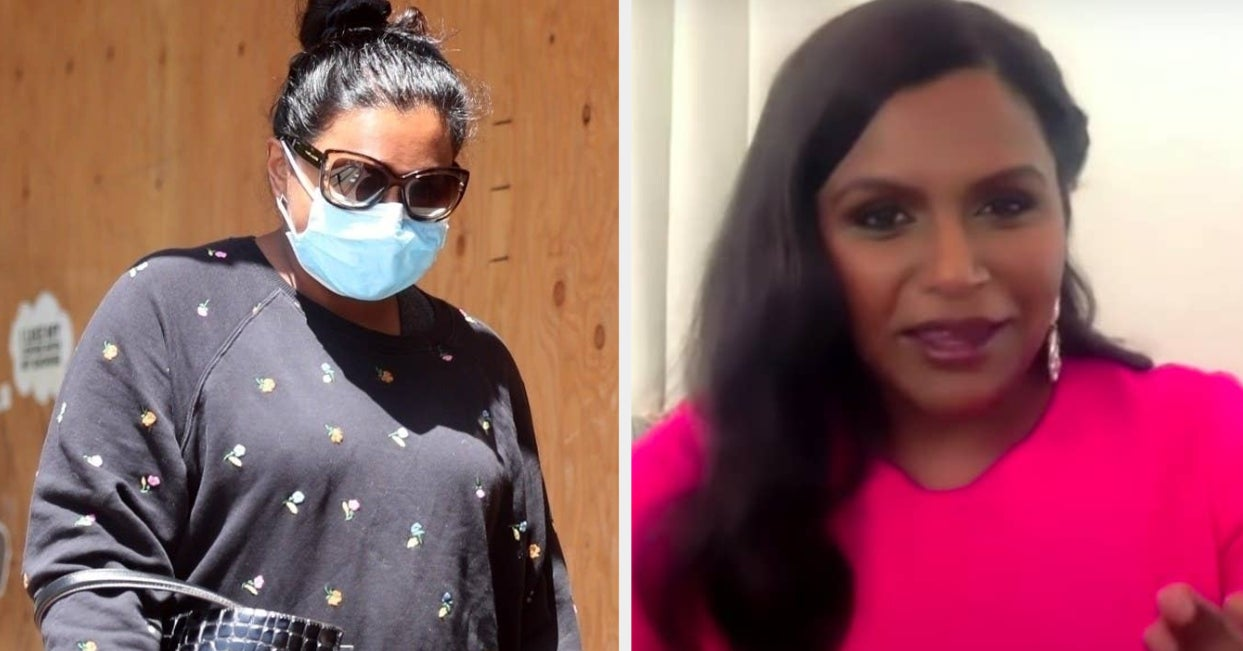 """Mindy Kaling Opened Up About Hiding Her Pregnancy, And Said Being Pregnant In A Pandemic Was """"A Little Scary"""""""
