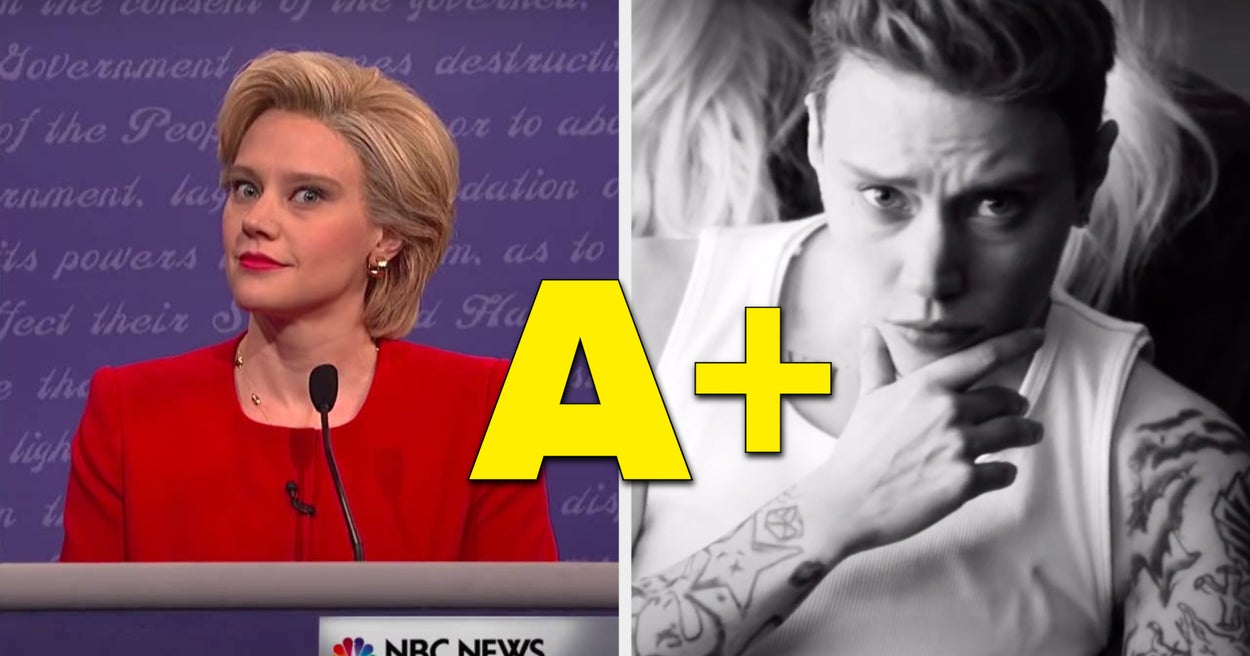 "Just 25 Times Kate McKinnon Absolutely Nailed It On ""SNL"""