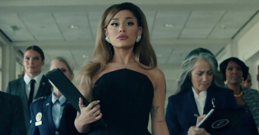 """21 Tweets About Ariana Grande's New """"Positions"""" Music Video That Prove How Iconic It Truly Is"""