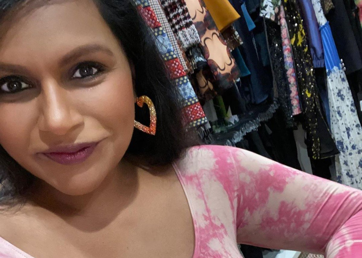 Mindy Kaling Stuns In Kit Undergarments Thong Bodysuit