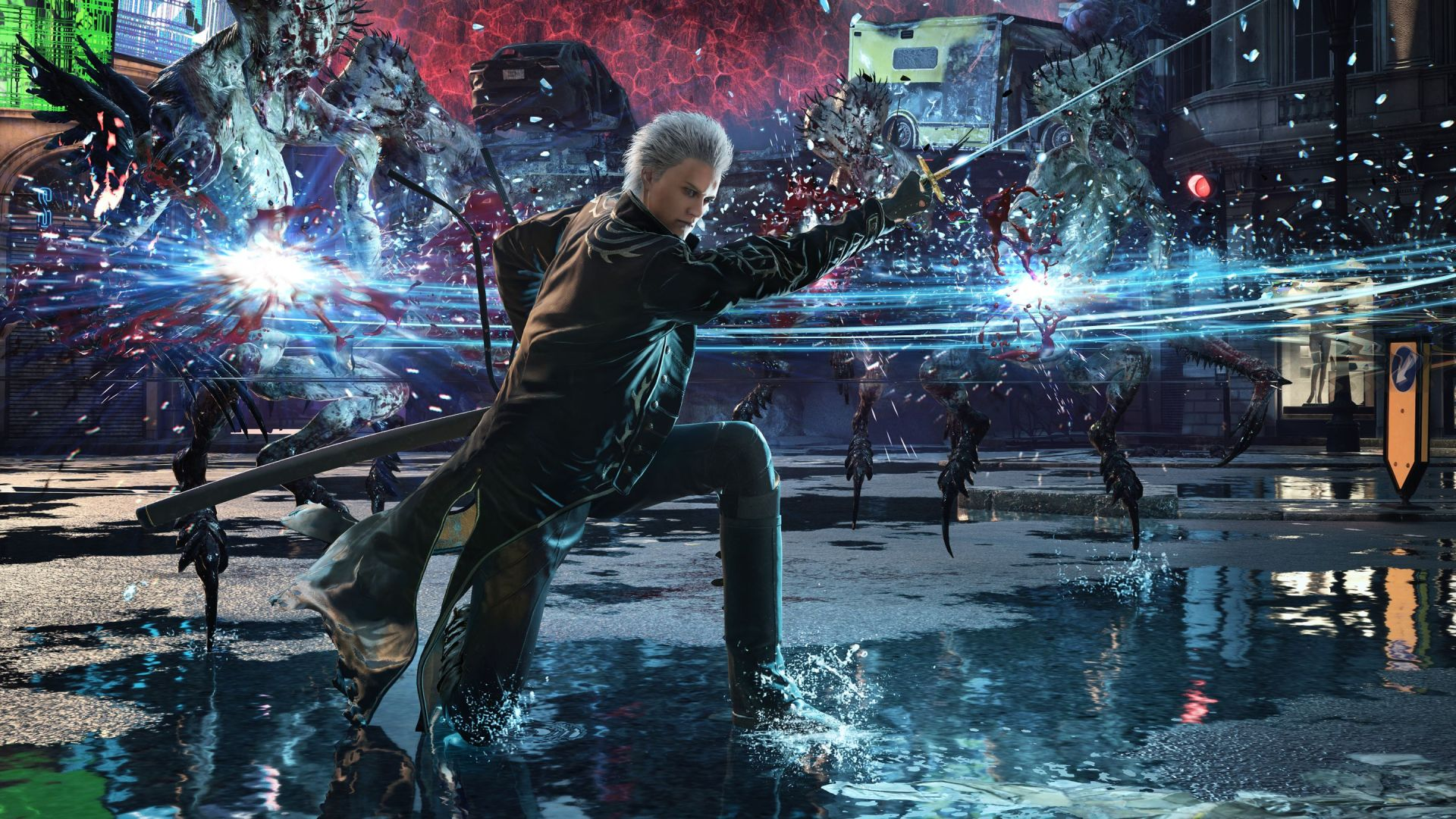 Devil May Cry 5 Special Edition Features 4K Resolution, Ray Tracing Effects At 60 FPS , And Running At 120 FPS