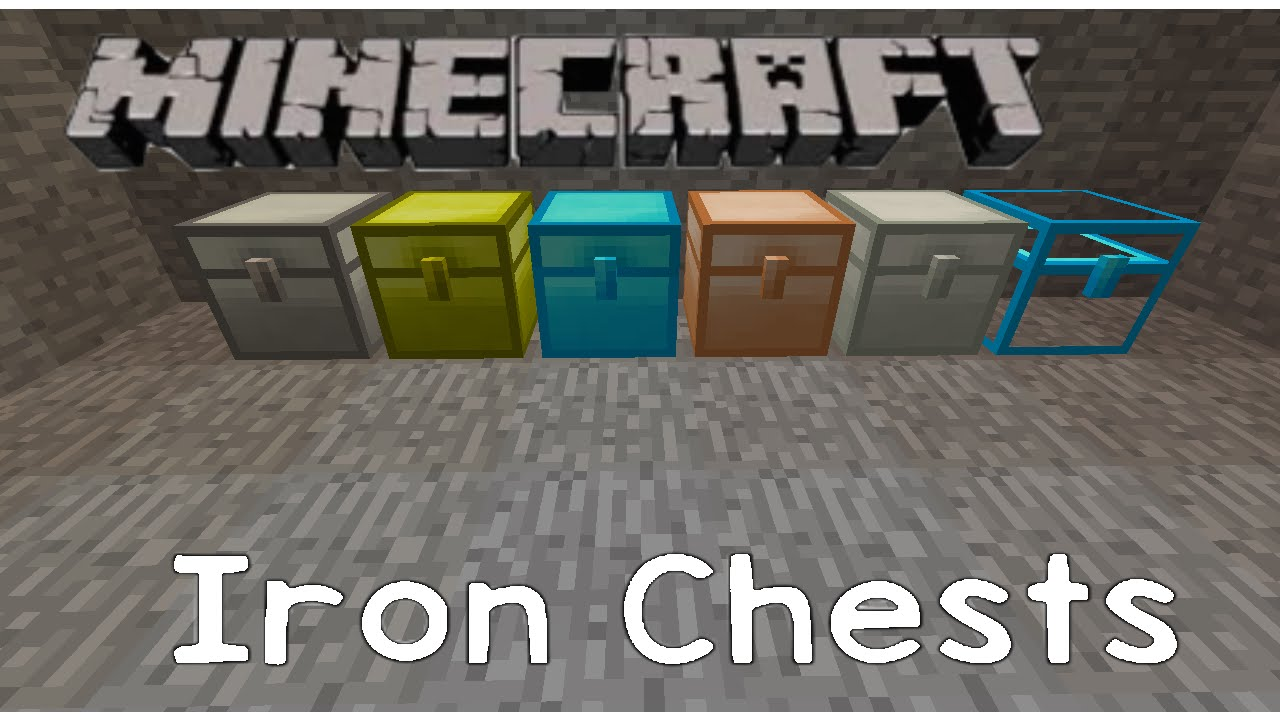 Minecraft Mods Mined: Iron Chests, A New Way To Store A Large Variety Of Items