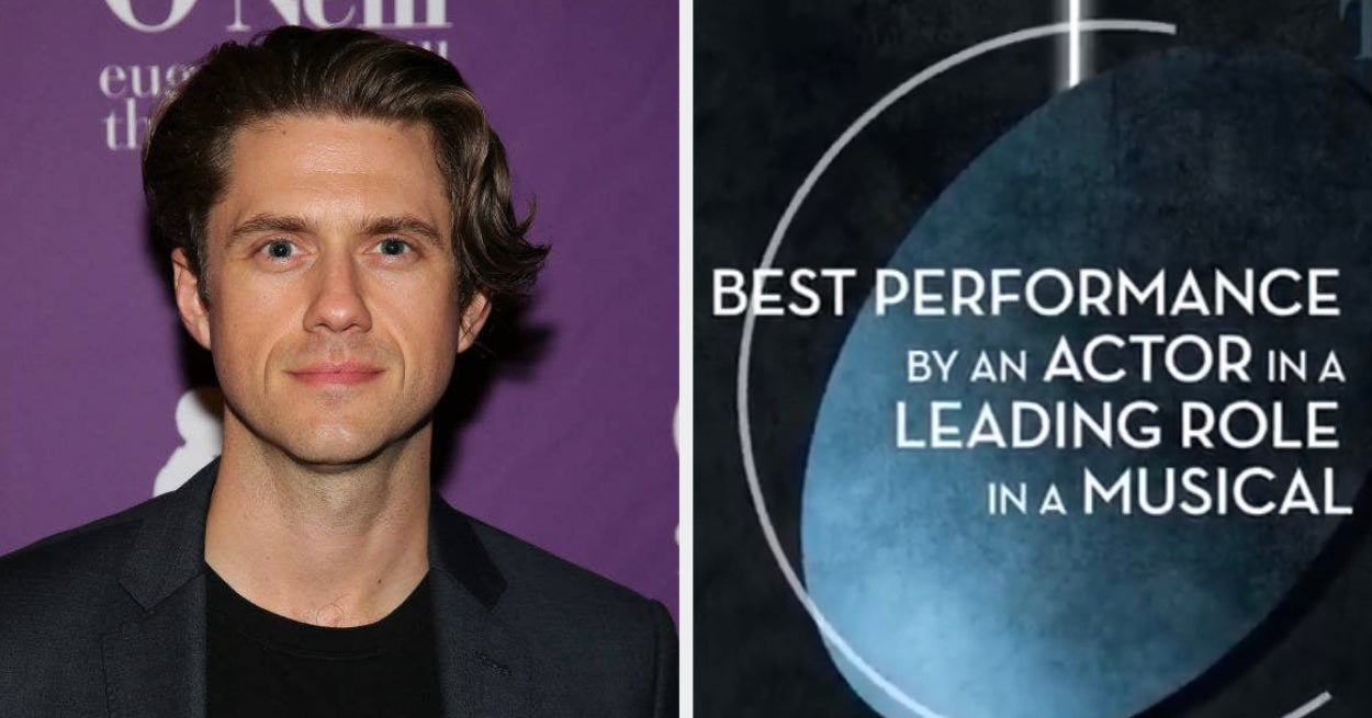 Aaron Tveit Was Literally The Only Person Nominated For A Best Actor Tony This Year