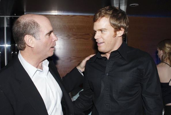 Clyde Phillips and Michael C. Hall