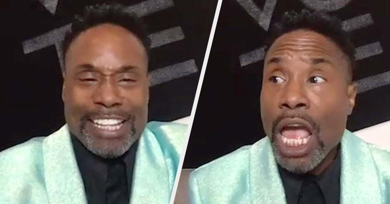Billy Porter Answered All Of Your Burning Questions And He Did Not Hold Back