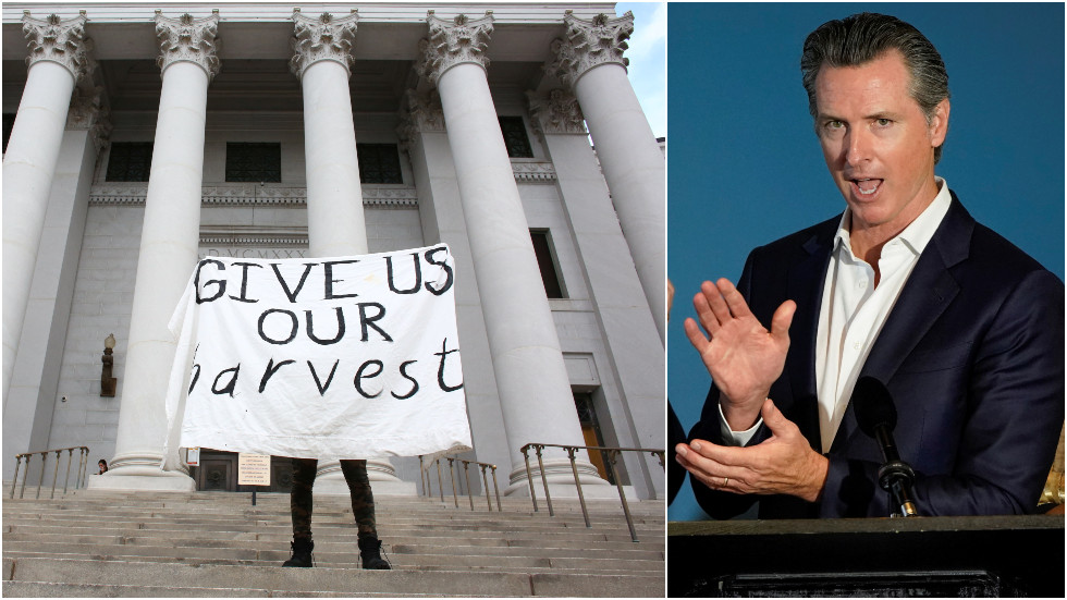 Gov. Newsom approves task force on 'slavery reparations' as taxpayers wonder how 'broke' California will foot the bill