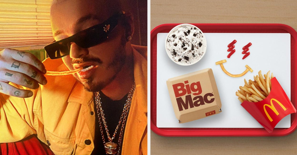 The J Balvin Meal Is The Latest Celebrity Meal At McDonald's, And The Internet's Reaction Is Already Hilarious