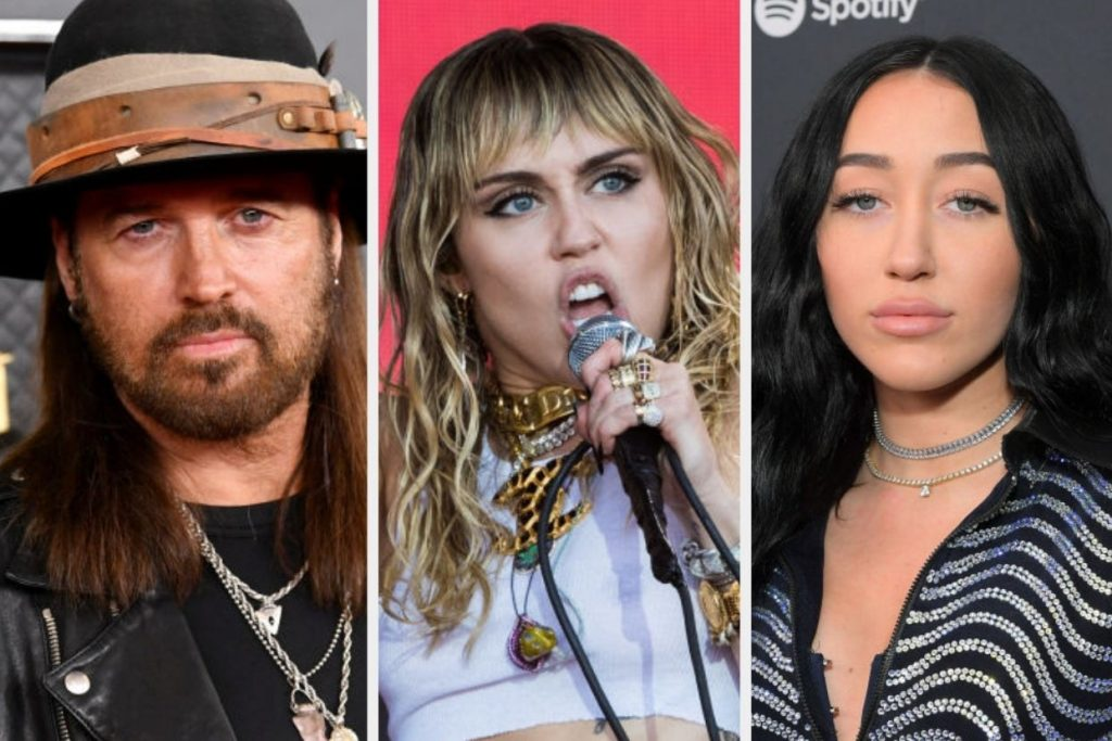 Billy Ray Cyrus, Miley Cyrus, and Noah Cyrus