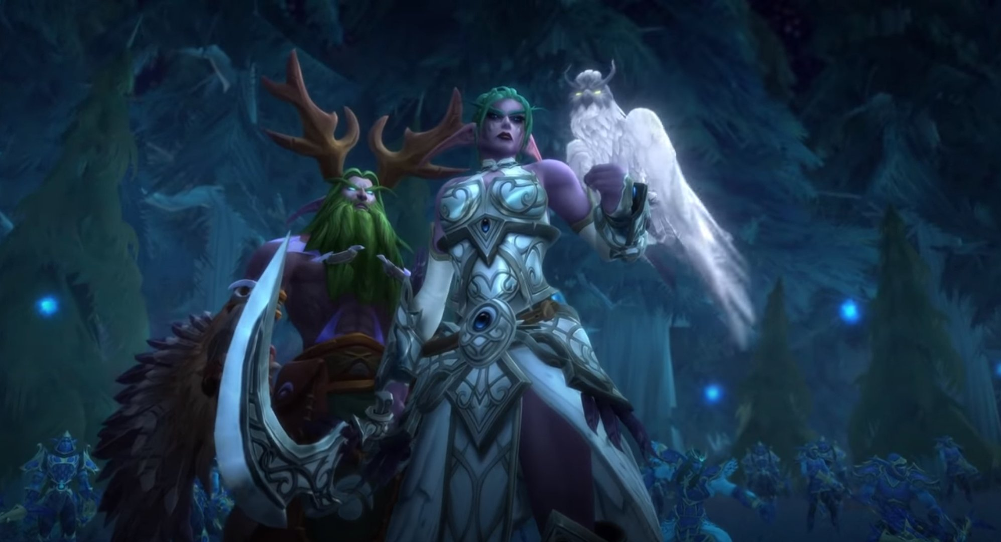 World Of Warcraft: Shadowlands Prepatch Drops Tomorrow, October 13th