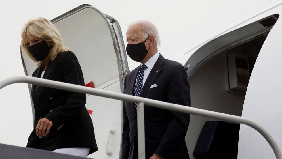 Joe Biden and wife Jill have tested negative for Covid-19 following positive results for Trump and first lady Melania
