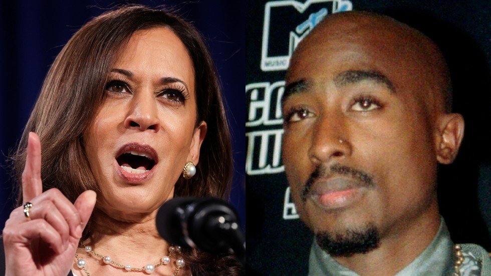 Trump campaign leaves debate ticket for long-deceased TUPAC, mocking Kamala Harris for saying he's the best rapper 'alive'