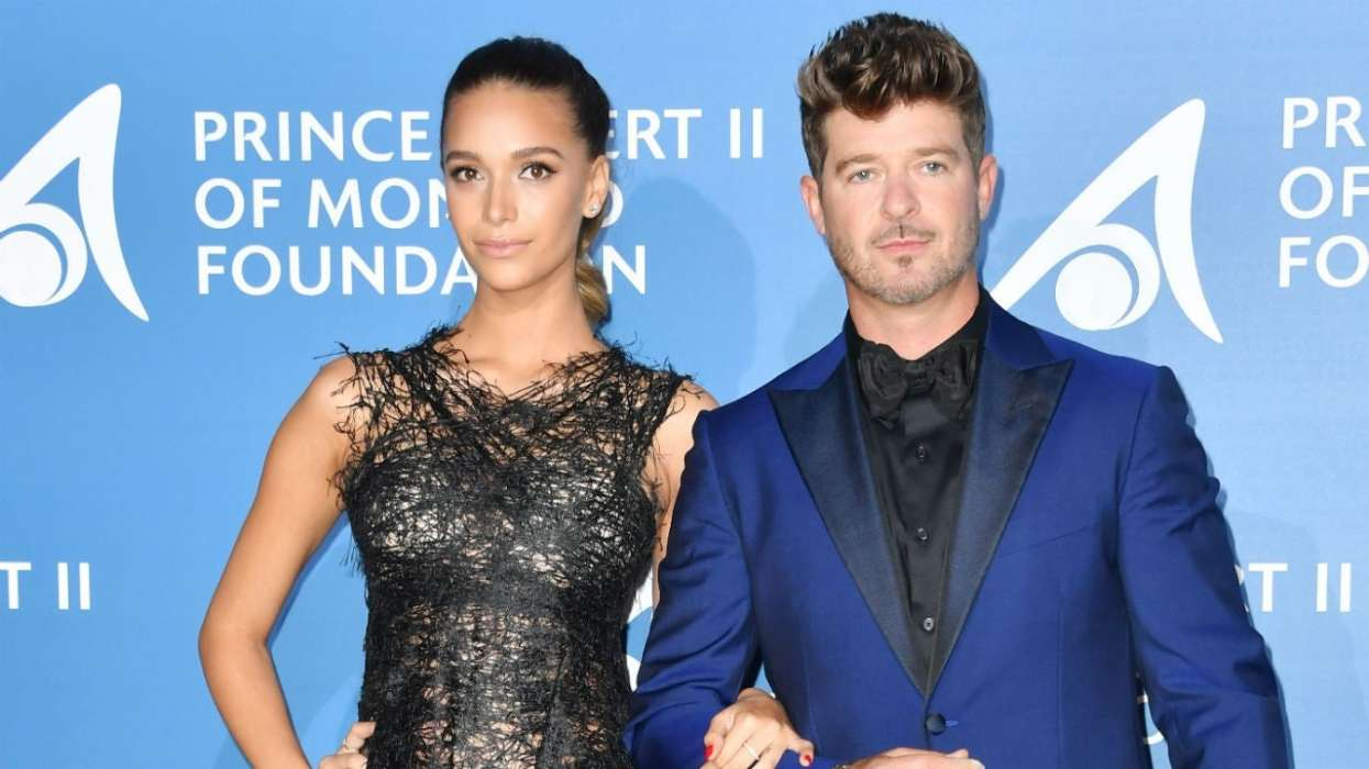 April Love Geary Confirms She And Robin Thicke Are Expecting Their Third Baby