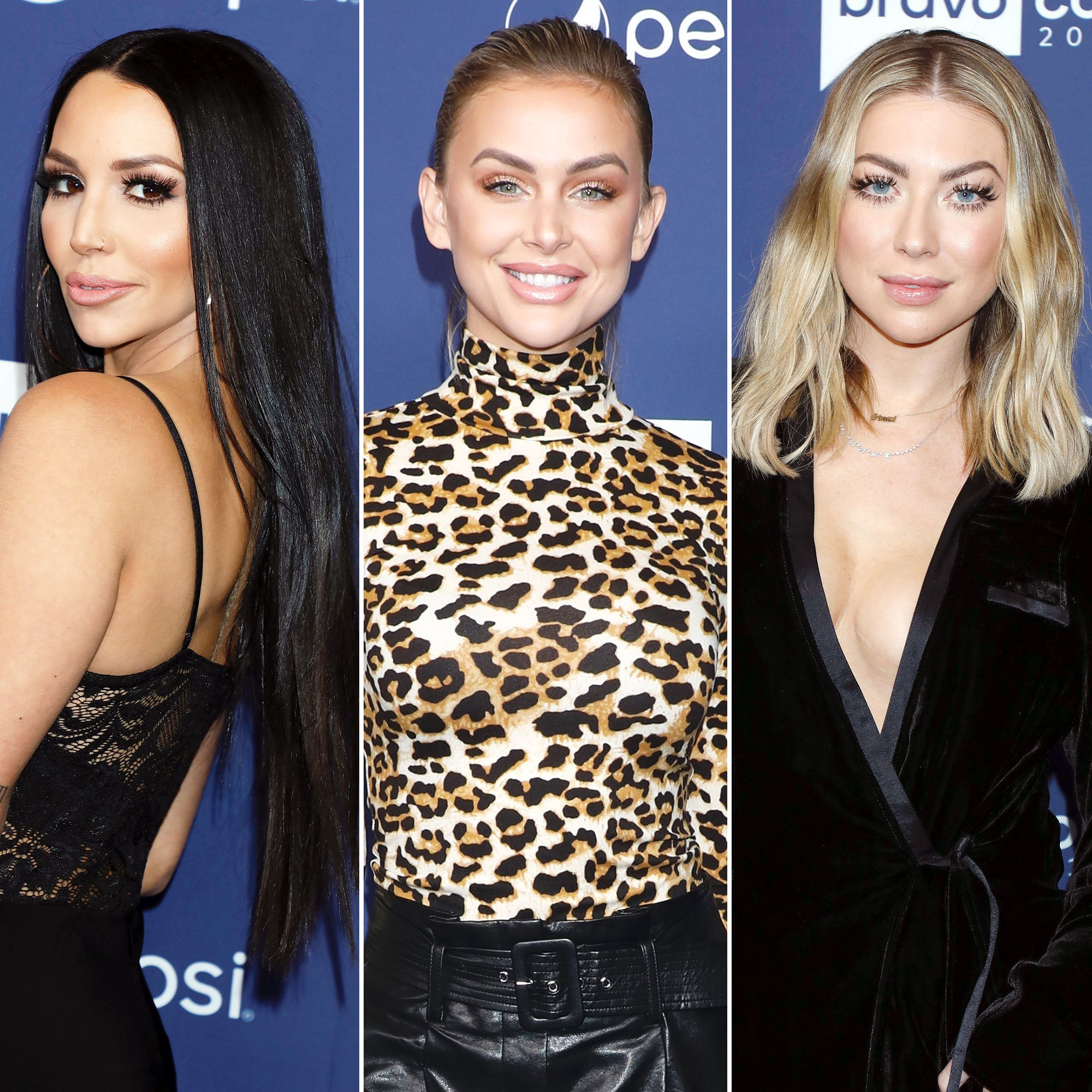 Scheana Marie Opens Up About Her Stassi Schroeder And Lala Kent Falling Out – Here's Why She's Not Planning On Ever Fixing Their Friendship!