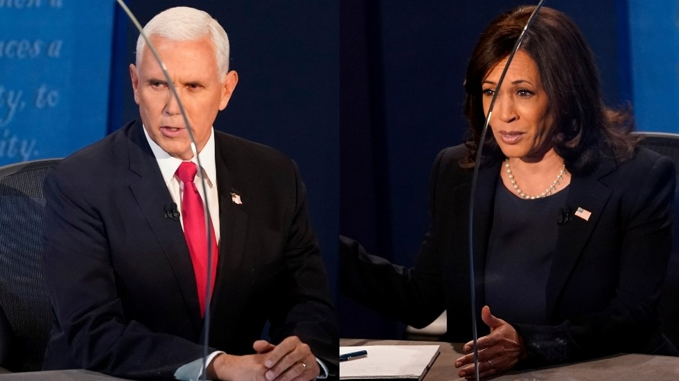 'Looks a little like plagiarism': Pence uses past Biden scandal to slam Harris on Covid-19 response plan