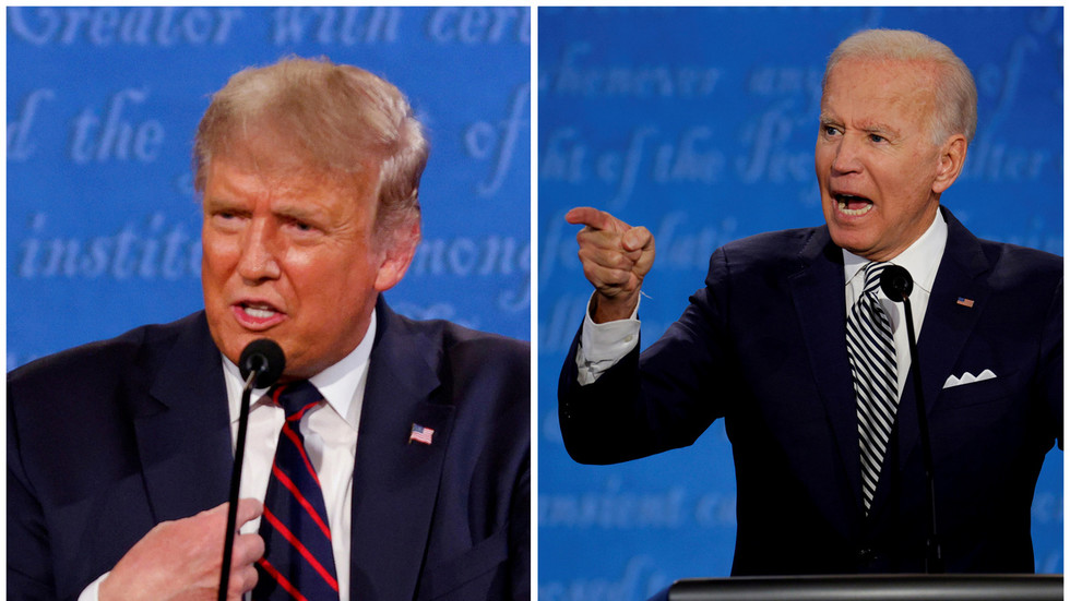 Second Trump-Biden debate will be 'VIRTUAL', with candidates in 'separate remote locations'