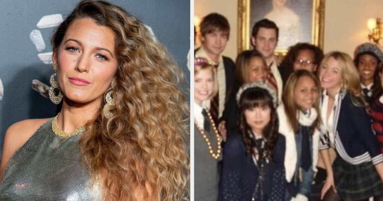 """Blake Lively Shared A """"Gossip Girl"""" Throwback Photo And It's One Of The Most '07 Things I've Ever Seen"""