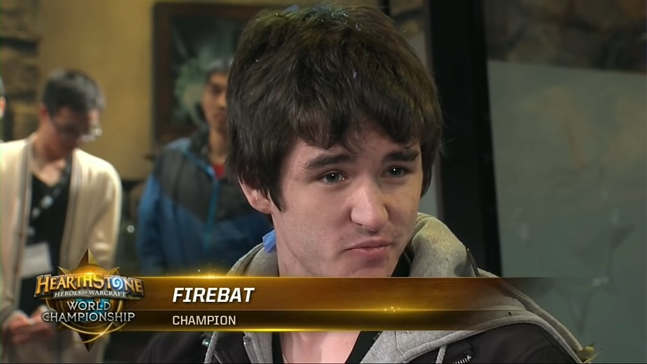 Hearthstone's First World Champion, Firebat, Announced His Retirement From The Competitive Scene