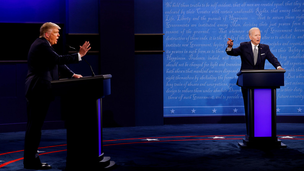 Second presidential debate set for Oct. 15 OFFICIALLY off, commission says after Biden snubs Trump's proposal to reschedule