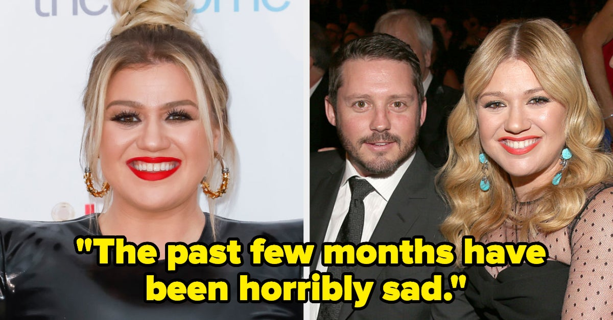 "Kelly Clarkson Opened Up About Her Emotional Divorce And Called It ""The Worst"""