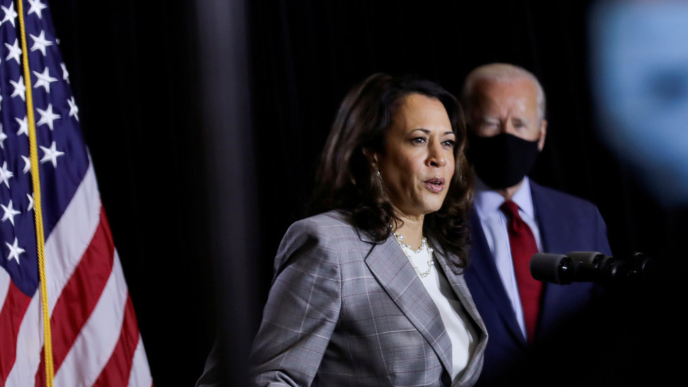 Biden campaign CANCELS Kamala Harris' travel after two people on her flight test POSITIVE for Covid-19