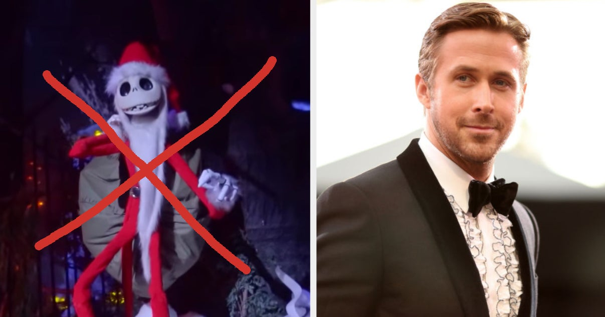 Ryan Gosling Is Very Passionate About His Dislike Of Disneyland's Haunted Mansion Holiday Overlay