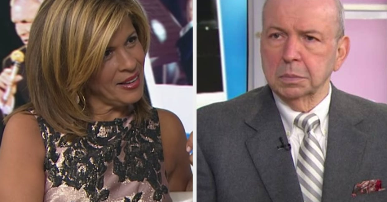 "Hoda Kotb Said Frank Sinatra Jr. Was The ""Worst Guest Ever"" And You Could Feel The Awkwardness Through The Screen"