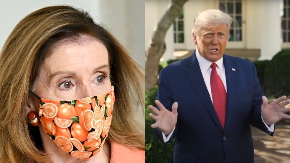 Pelosi sets stage for NEW way to oust Trump – using 25th Amendment to rule him incapacitated amid his bout with Covid