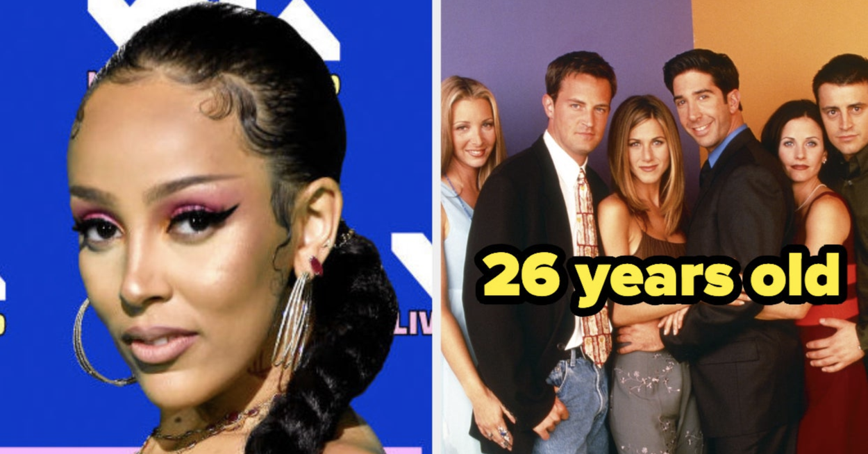 "Are These Famous People Older, Younger, Or The Same Age As The TV Show ""Friends""?"